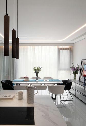 15-20万100平米三室两厅现代简约风格餐厅图
