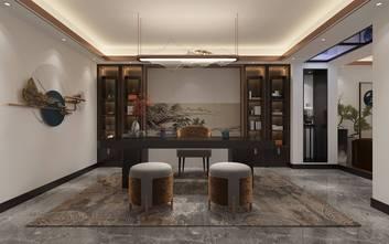 20万以上140平米别墅轻奢风格客厅图片