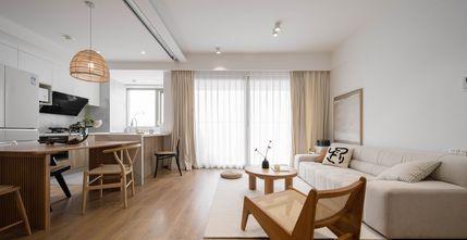 5-10万70平米三室两厅日式风格餐厅装修图片大全