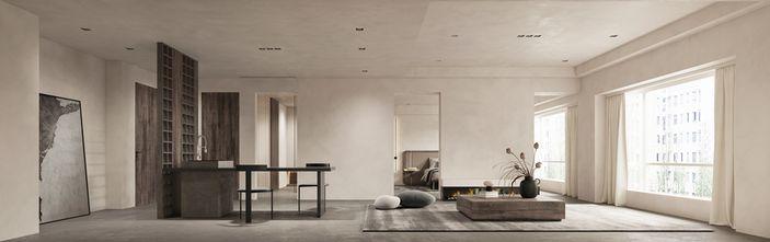 富裕型公寓工业风风格客厅设计图