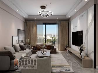 5-10万90平米三室两厅轻奢风格客厅效果图