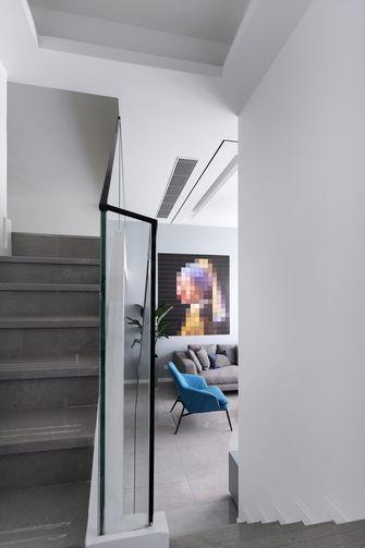 豪华型120平米复式现代简约风格楼梯间图片