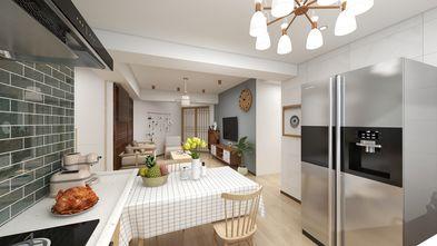 富裕型110平米三室两厅日式风格餐厅装修案例