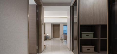 豪华型120平米四室一厅轻奢风格走廊图片大全