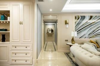 110平米三室两厅美式风格玄关装修图片大全