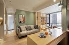 经济型40平米小户型日式风格客厅效果图