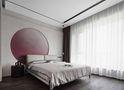 富裕型120平米三室两厅工业风风格卧室图片