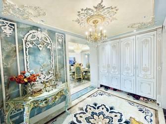 豪华型140平米别墅法式风格玄关图片大全