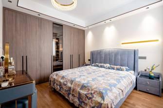 富裕型100平米三室三厅港式风格卧室装修案例