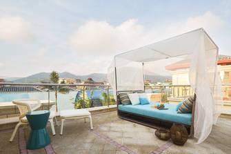 140平米别墅现代简约风格阳光房图