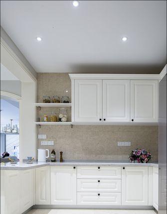 豪华型140平米三室两厅美式风格厨房图片