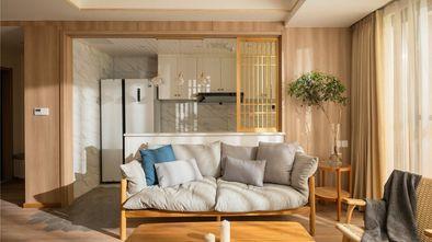 10-15万90平米三室一厅日式风格客厅设计图