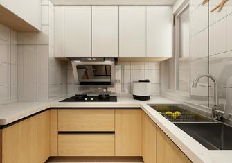 经济型50平米一室两厅日式风格厨房装修效果图