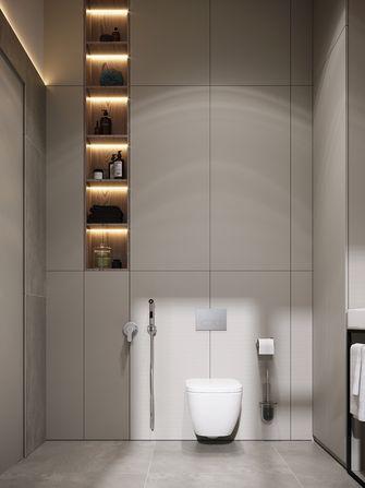 豪华型110平米三室两厅现代简约风格卫生间效果图