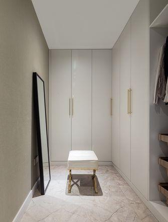 120平米四室一厅北欧风格衣帽间设计图