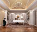 豪华型140平米三美式风格书房图片大全