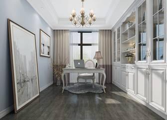20万以上140平米别墅美式风格书房装修案例