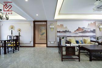 富裕型120平米三室两厅中式风格走廊图片