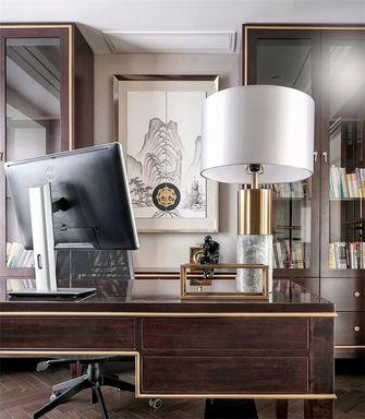 15-20万140平米别墅现代简约风格书房装修案例