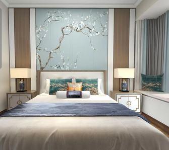 140平米四东南亚风格卧室装修案例