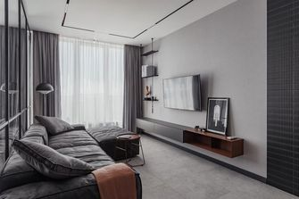 经济型60平米公寓工业风风格客厅图片大全
