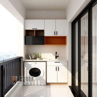 经济型100平米三室两厅现代简约风格阳台装修案例