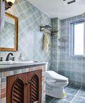 10-15万100平米三室两厅地中海风格卫生间装修效果图