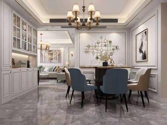 10-15万110平米三室两厅欧式风格餐厅图
