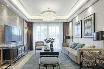 140平米四室一厅轻奢风格客厅装修效果图