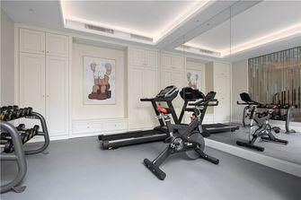 140平米别墅轻奢风格健身房效果图