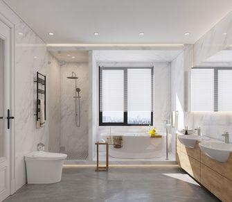 140平米美式风格卫生间图片