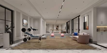 20万以上140平米别墅欧式风格影音室装修案例