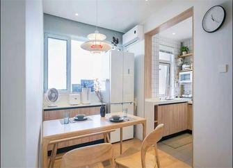 富裕型100平米三室一厅日式风格餐厅效果图