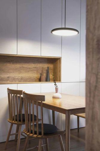 豪华型110平米四室一厅日式风格餐厅设计图