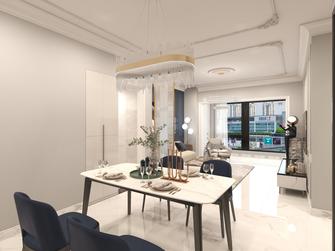 15-20万110平米三室两厅欧式风格餐厅图