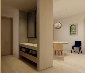 120平米四室一厅日式风格玄关设计图