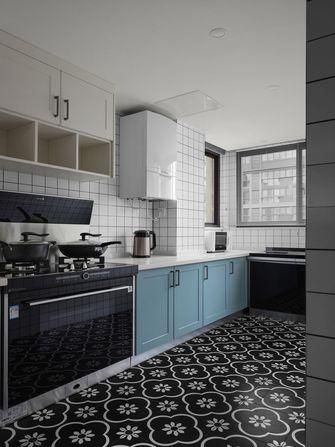 富裕型70平米北欧风格厨房效果图