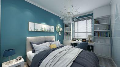 130平米四室两厅混搭风格卧室图片大全