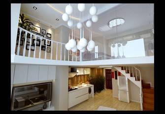 3-5万50平米复式现代简约风格楼梯间欣赏图