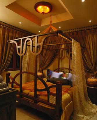 120平米三东南亚风格客厅图