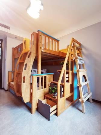 140平米四室四厅轻奢风格青少年房图