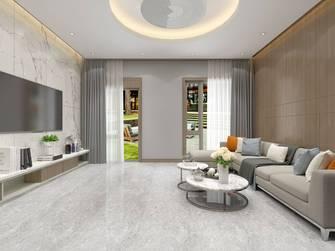 经济型140平米别墅中式风格客厅装修案例