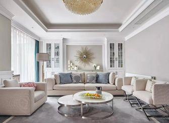 豪华型140平米四美式风格客厅图片
