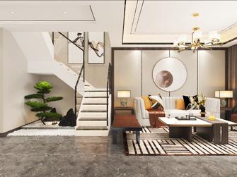 15-20万130平米三室两厅中式风格走廊效果图