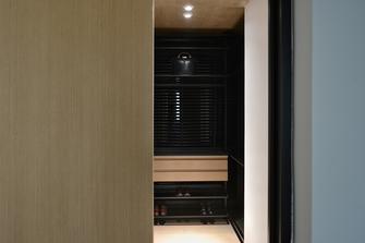 富裕型140平米四室一厅现代简约风格衣帽间装修案例