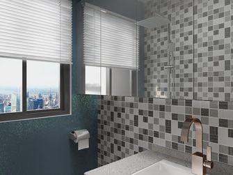 50平米一居室北欧风格卫生间欣赏图