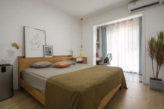 富裕型100平米三室两厅北欧风格卧室装修效果图