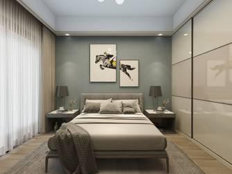 富裕型120平米三室三厅现代简约风格卧室装修案例