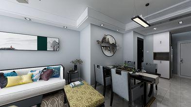 富裕型90平米三室一厅中式风格餐厅装修效果图