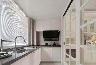 20万以上130平米四室一厅轻奢风格厨房欣赏图